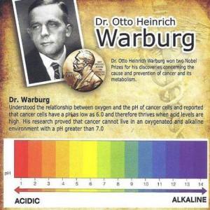 Otto Heinrich Warburg - Nutraease - Grupo Aqualai