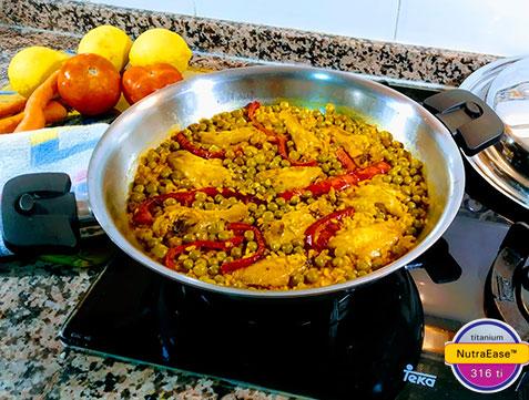 Sarten Gourmet 30cm Nutraease